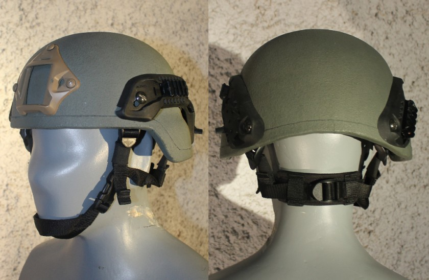 სპეციალური დანიშნულების ტაქტიკური ჩაფხუტი DH MK-II