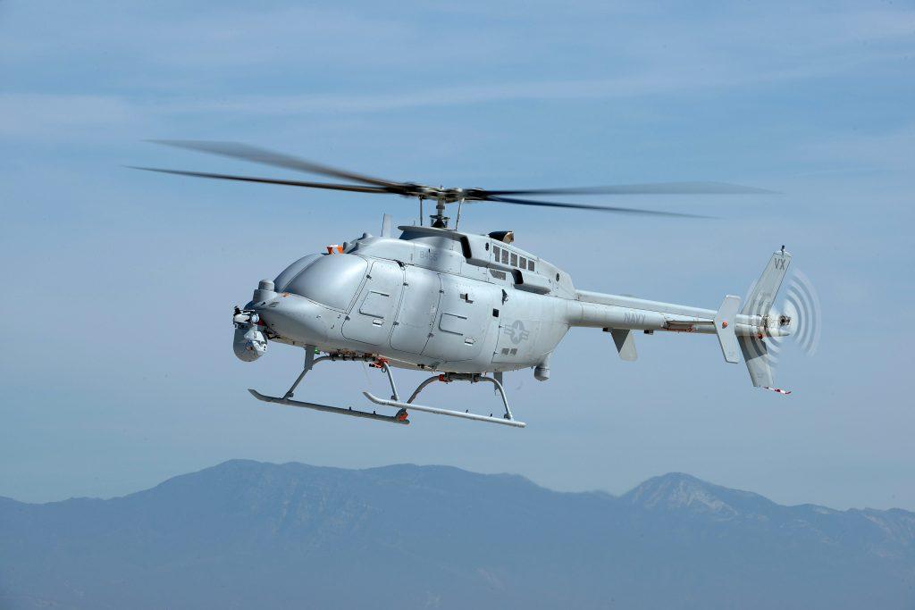 მოდიფიკაცია MQ-8C Bell 407 ტიპის შვეულმფრენის ბაზაზე
